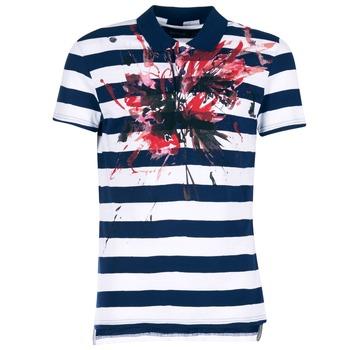衣服 男士 短袖保罗衫 Desigual RELIRA 白色 / 海蓝色 / 红色