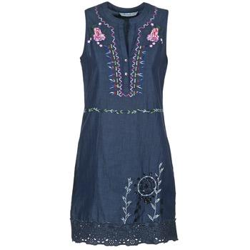 衣服 女士 短裙 Desigual LIRASE 蓝色