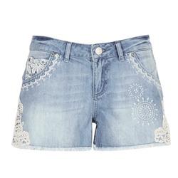 衣服 女士 短裤&百慕大短裤 Desigual MARTES 蓝色