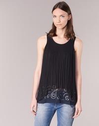 衣服 女士 长衬衫 Desigual TUDURIA 黑色
