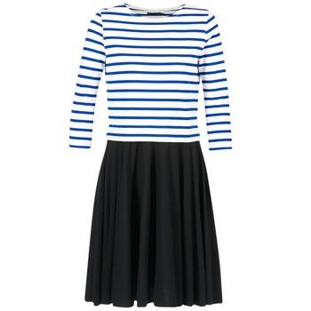 衣服 女士 短裙 Petit Bateau 小帆船 FINALLY 白色 / 蓝色