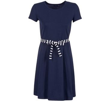 衣服 女士 短裙 Petit Bateau 小帆船 FLARE 海蓝色