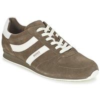 鞋子 男士 球鞋基本款 Hugo Boss Orange 50327304 灰褐色