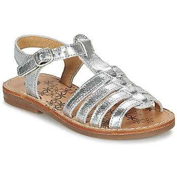 鞋子 女孩 凉鞋 Babybotte 宝宝波特 YLONA 银灰色