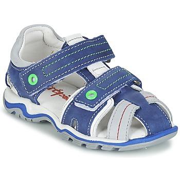 鞋子 男孩 凉鞋 Babybotte 宝宝波特 KARTER 蓝色 / 绿色 / 灰色