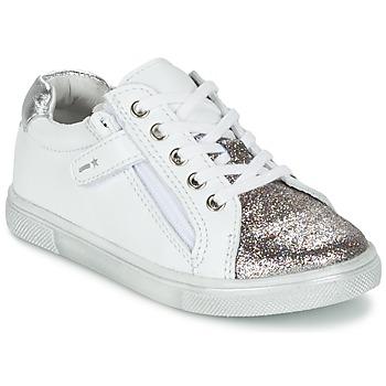 鞋子 男孩 球鞋基本款 Babybotte 宝宝波特 KRAZY 白色 / 银灰色