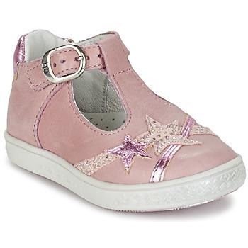 鞋子 女孩 平底鞋 Babybotte 宝宝波特 STARMISS 玫瑰色