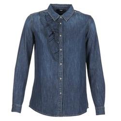 衣服 女士 衬衣/长袖衬衫 Diesel 迪赛尔 DE KELLY 蓝色