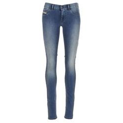 衣服 女士 紧身牛仔裤 Diesel 迪赛尔 LIVIER 蓝色 / 0679e