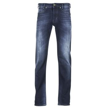 衣服 男士 紧身牛仔裤 Diesel 迪赛尔 AKEE 蓝色 / 0860l