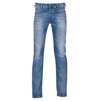 衣服 男士 紧身牛仔裤 Diesel 迪赛尔 AKEE 蓝色 / 084DF