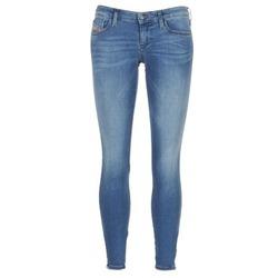 衣服 女士 牛仔铅笔裤 Diesel 迪赛尔 SKINZEE LOW ZIP 蓝色 / 0681p
