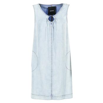 衣服 女士 短裙 Diesel 迪赛尔 DE ISBEC 蓝色