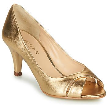 鞋子 女士 高跟鞋 Jonak DIANE 金色