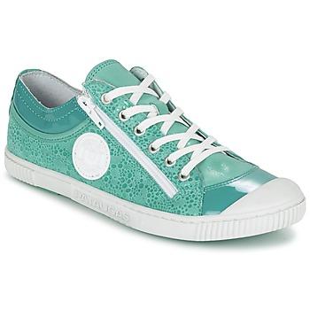 鞋子 女士 球鞋基本款 Pataugas BISK/BB F2C 松石绿