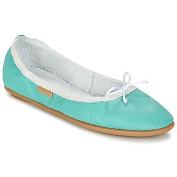 鞋子 女士 平底鞋 Pataugas SANOK F2C 松石绿