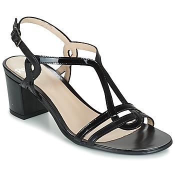 鞋子 女士 凉鞋 Perlato LOABINE 黑色