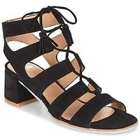 鞋子 女士 凉鞋 Perlato QUEZOKA 黑色