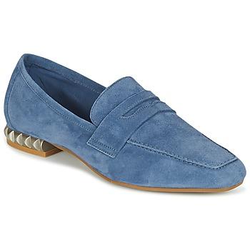 鞋子 女士 皮便鞋 Perlato KAMINA 蓝色