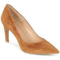 鞋子 女士 高跟鞋 Perlato REVOUTE 驼色