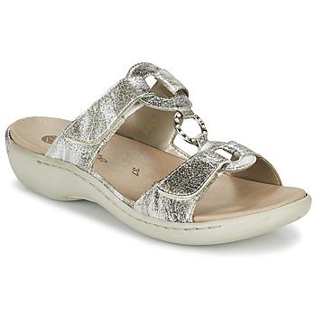 鞋子 女士 休闲凉拖/沙滩鞋 Remonte TARDESSO 银灰色