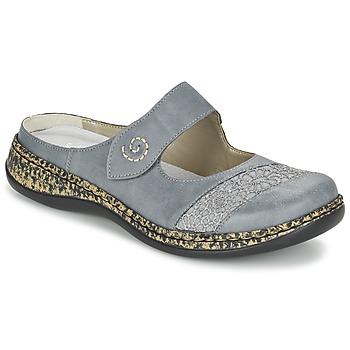 鞋子 女士 休闲凉拖/沙滩鞋 Rieker 瑞克尔 GRILOPI 蓝色 / 灰色