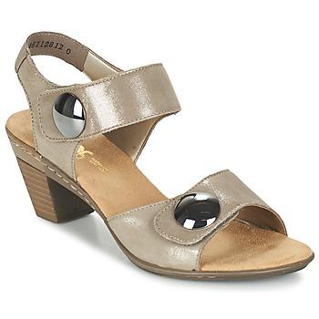 鞋子 女士 凉鞋 Rieker 瑞克尔 GERITEDO 灰色