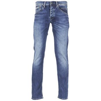 衣服 男士 直筒牛仔裤 Pepe jeans TRACK 蓝色 / N45
