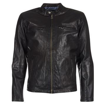 衣服 男士 皮夹克/ 人造皮革夹克 Pepe jeans LENNON 黑色