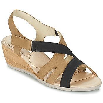 鞋子 女士 凉鞋 Rondinaud COLAGNE 米色 / 黑色