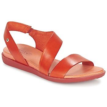鞋子 女士 凉鞋 Pikolinos 派高雁 ANTILLAS W0H 红色