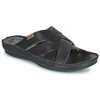 鞋子 男士 休闲凉拖/沙滩鞋 Pikolinos 派高雁 TARIFA 06J 黑色