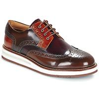 鞋子 男士 德比 Barleycorn AIR BROGUE 棕色 / 波尔多红