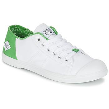 鞋子 女士 球鞋基本款 Le Temps des Cerises BASIC 02 白色 / 绿色