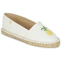 鞋子 女士 帆布便鞋 Le Temps des Cerises CANCUN 白色