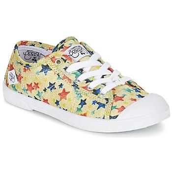 鞋子 女孩 球鞋基本款 Le Temps des Cerises BASIC 02 黄色