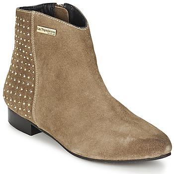 鞋子 女士 短筒靴 Les Tropéziennes par M Belarbi LEANA 灰褐色