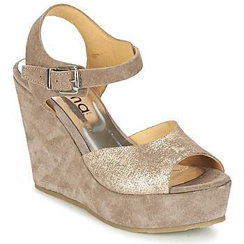 鞋子 女士 凉鞋 Myma RAPHIA 灰褐色