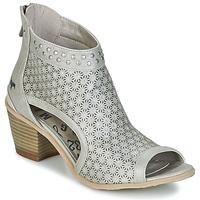 鞋子 女士 短靴 Mustang CRAIDOU 银色