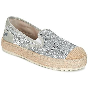 鞋子 女士 帆布便鞋 Mustang FRIO 银色