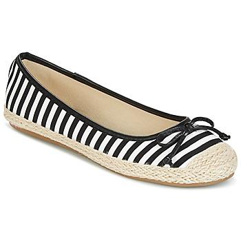 鞋子 女士 平底鞋 Wildflower Luck 黑色 / 白色