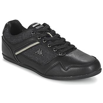 鞋子 男士 球鞋基本款 Kappa 卡帕 BRIDGMANI 黑色