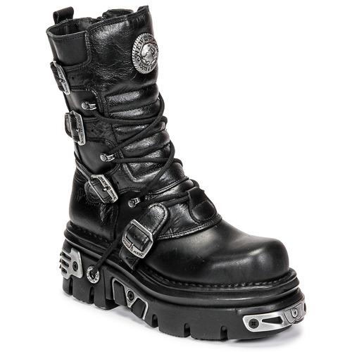 鞋子 短筒靴 New Rock NEMESIS 黑色