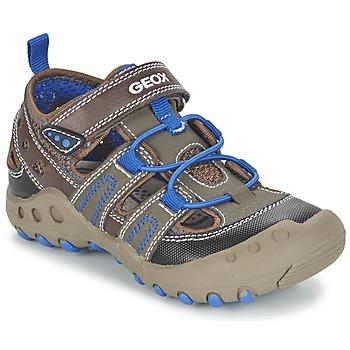 鞋子 女孩 凉鞋 Geox 健乐士 J SAND.KYLE A 棕色
