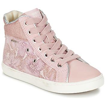 鞋子 女孩 高帮鞋 Geox 健乐士 J KIWI G. H 玫瑰色