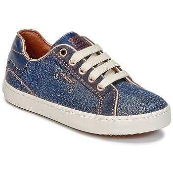 鞋子 女孩 高帮鞋 Geox 健乐士 J KIWI G. B 蓝色