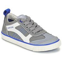 鞋子 男孩 球鞋基本款 Geox 健乐士 J KIWI B. J 灰色