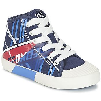 鞋子 男孩 高帮鞋 Geox 健乐士 J KIWI B. E 海蓝色