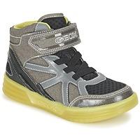 鞋子 男孩 高帮鞋 Geox 健乐士 J ARGONAT B. B 灰色 / 柠檬色