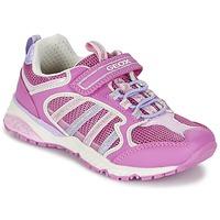 鞋子 女孩 球鞋基本款 Geox 健乐士 J BERNIE G. A 玫瑰色 / LILA